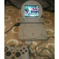 PS1 Combo With LCD Screen SCPH-100 playstation + controller + memory card