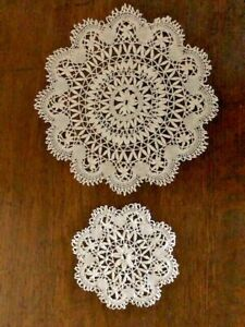 Vintage Lace Doilies x 12 (6 small and 6 large)