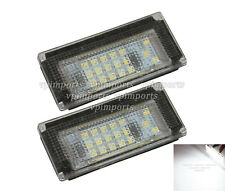 CanBus LED Xenon White License Number Plate Lights For Mini Cooper One R50 R52