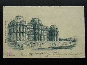 BARNARD CASTLE Bowes Museum c1902 UB Postcard, Bernard Castle Duplex 48 Postmark