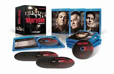 The Sopranos Complete Series Blu-ray + Digital HD Set TV Show HBO Box Season Lot