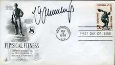 MAX SCHMELING PSA/DNA COA HAND SIGNED FDC AUTHENTIC AUTOGRAPH