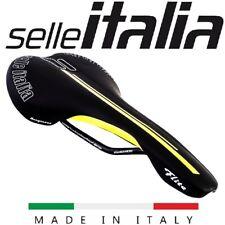 Selle Italia Flite idmatch Black w/ Yellow Manganese Rail Lightweight Road Bike