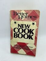 Better Homes & Gardens New Cook Book Paper Back 1976 Printed In USA Vintage
