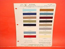 1967 FORD MUSTANG MACH I BOSS 302 429 FAIRLANE CONVERTIBLE RANCHERO PAINT CHIPS