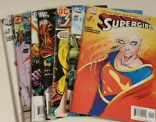 Supergirl comic lot including #1 first issue DC Turner