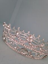 Baby Crown Boy. Small Sized Crown .4cms Tall . Girl Baby Crown