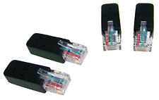 IBM RJ45 Black Terminator 4-PCS each NEW Kit 32P1710 Plugs for KVM Console-Serve