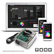 Cameo DVC 4 512-Kanal DMX-Interface und Steuersoftware USB-Interface USB 512 DMX