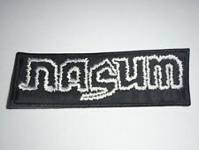 NASUM GRINDCORE EMBROIDERED PATCH