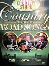 COUNTRY ROAD SONGS NEW!  DVD,Boxcar Willie, Jimmy Dean, Bobby Bare Live Florida