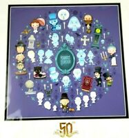 Art of Disney Parks Jerrod Maruyama Haunted Mansion of Cute Deluxe Print 16 x 16