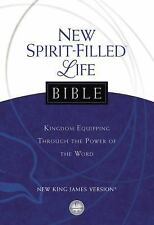 NEW SPIRIT-FILLED LIFE BIBLE - NEW HARDCOVER BOOK