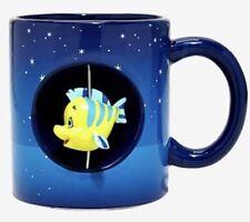 Disney The Little Mermaid Ariel Flounder Ceramic 20oz. Spinner Mug