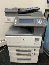 Konica Minolta Bizhub 420 Bampw Scannercopierprinter With 4 Extra Sealed Toners