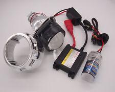 Mini Bi-Xenon Retrofit Projector Lens H4 w/H1 HID Conversion Kit, Shroud Combo