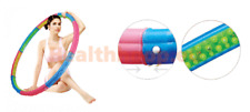 VITA HEALTH Hula Hoop Diet Massage Weighted Exercise Magnetic Fitness Gym