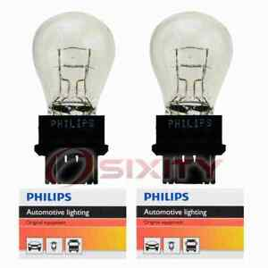 2 pc Philips Tail Light Bulbs for Ford Bronco Contour Cougar Crown Victoria oq