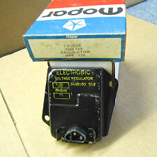 Mopar 1970 71 72 -1974 A,B,C,E body voltage regulator 3438150 512 date code NOS
