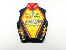 Verge Full Zip Mesh Back Sz. XS Cycling Vest Baggy Yellow Red Blue Back