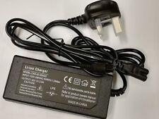 42V 2A Self Smart Balancing Scooter Self Balance Battery Charger Power UK Plug