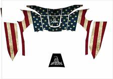 Miller T94i I T Digital Elite Welding Helmet Wrap Decal Sticker American Flag