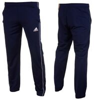 Adidas Men's Pants Core18 PES Football Sport Running Bottom Tracksuit Navy Gym