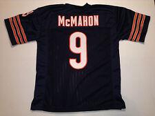 UNSIGNED CUSTOM Sewn Stitched Jim McMahon Blue Jersey - 3XL