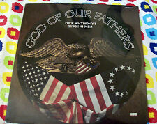 DICK ANTHONY HIS SINGING MEN LP.....GOD OF OUR FATHERS ..NEW OLD STOCK ..SEALED