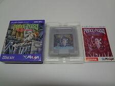 Prince of Persia Nintendo Game Boy Japan