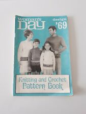 Vintage Woman's Day Design '69 Knitting and Crochet Pattern Book