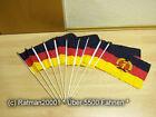 Fahne Flagge 10 x DDR Stockflagge 30 x 45 cm