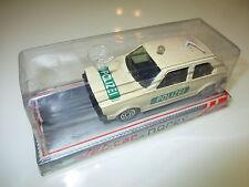 VW Golf 1 Mk I POLIZEI police polis, Norev Jet Car #883 in 1:43 en boite boxed!