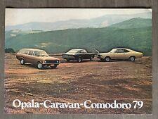 1979 Chevrolet Opala - Caravan - Comodoro original Brazilian sales brochure