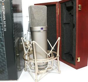 Neumann U87Ai Microphone w/ Case & Shockmount