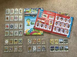 MINT NEW FULL COLLECTION SET OF 640 x STICKERS - BRAZIL 2014 WORLD CUP BRASIL c