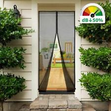 210 x 90cm Insektenschutz-Magnetvorhang, Türen-Fliegengitter reduziert Lärm-Typ