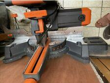 Evolution R255SMS -DB sliding mitre saw 240V. Superb condition. Cost - £350 new.