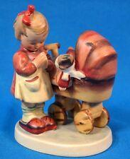 "Vintage Hummel Goebel Figurine Girl ""Doll Mother"" # 67 Western Germany TMK-3"