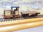 R3707 Hornby Ruston & Hornsby 48DS And Flatbed Wagon Longhorn Distillery