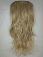 "Blonde 26"" long Straight Clip In Hair Extension Hairdo"