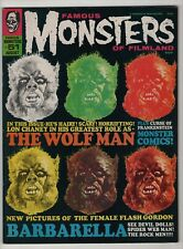 Famous Monsters of Filmland #51 FN/VF 7.0 higher grade Wolf Man 1968 Warren mag