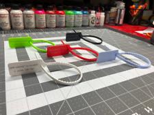 Off White Zip Tie Replacement for Jordan Presto VaporMax Converse (7 Colors)