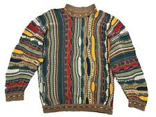 Vintage Coogi Brown Pullover Sweater Size Large