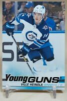 Ville Heinola Young Guns 2019-20 Upper Deck YG Rookie Winnipeg Jets RC