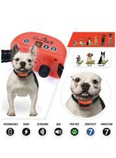 Shock Collar for Small, Medium, And Large Dogs Pain Ultrasonic 7 Levels Of Vibra