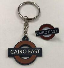 MADNESS PIN BADGE & KEY RING 'CAIRO EAST' SKA MOD NUTTY BOYS RUDE BOY TWO TONE