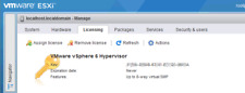 VMware ESXI 6 /6.5/ 6.7 vSphere + 1/2 CPU instant delivery + Official Support