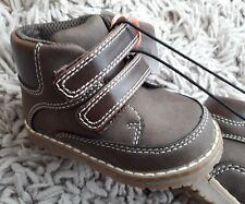 MOTHERCARE KIDS BOYS RETRO MID TOP BOOTS NEW SIZE UK 4 INFANT CASUAL SNEAKERS