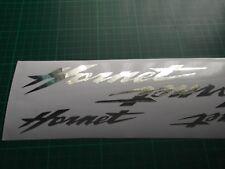 HORNET CHROME FOIL Stickers  Honda Hornet  x4